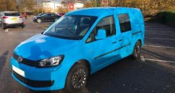 Volkswagen CADDY MAXI TDI Van REAR CONVERSION
